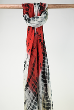 Load image into Gallery viewer, Tidal Tie Dye Modal/Cotton Scarf