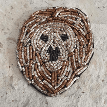 Load image into Gallery viewer, lion head brooch