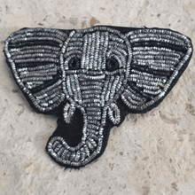 Load image into Gallery viewer, elephant brooch pin