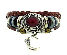 Load image into Gallery viewer, My Wild Days Leather Bracelet 10 Colour Grey