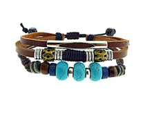 Load image into Gallery viewer, My Wild Days Leather Bracelet 17