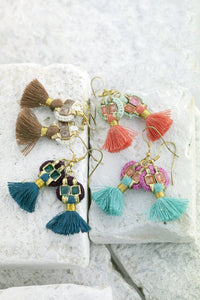 indian hanging earrings