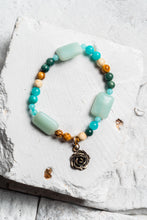 Load image into Gallery viewer, teal stone bracelet