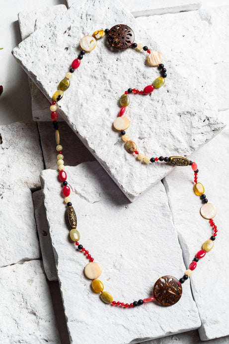 Collette Coconut Shell Necklace