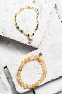 authentic citrine bracelet