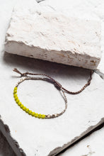 Load image into Gallery viewer, Heidi Semi-Precious Stone Bracelet, avail 7 colours