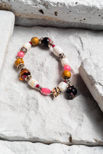 Load image into Gallery viewer, pink agate bracelet