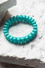 Load image into Gallery viewer, chunky turquoise bracelet