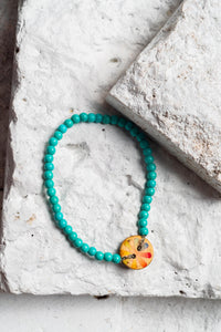 coconut shell bracelet