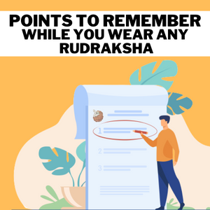 Points to Remember While You Wear Any Rudraksha