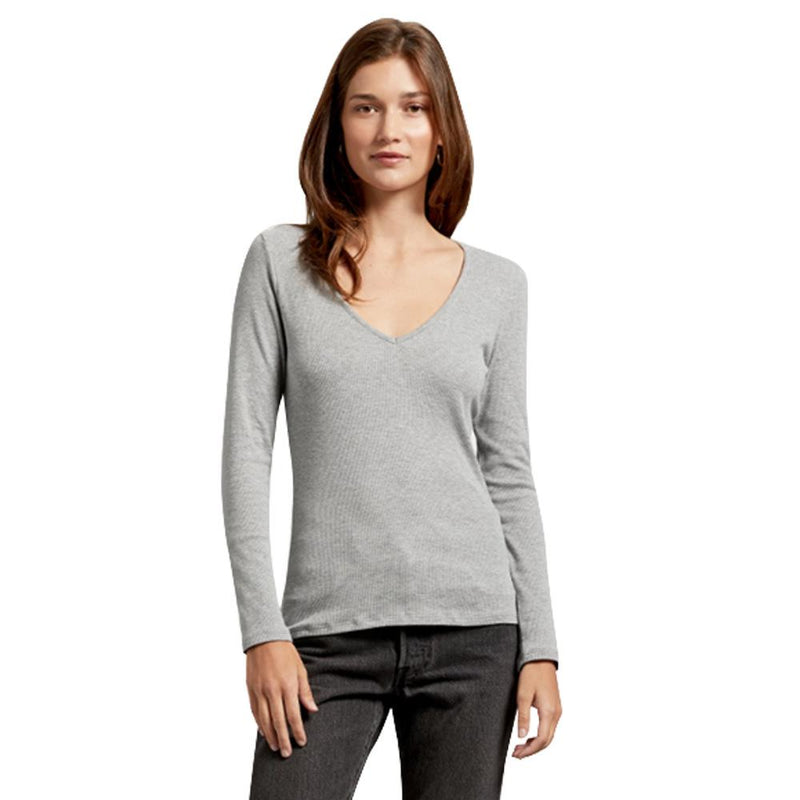 Lyric Ultra Rib LS V-Neck