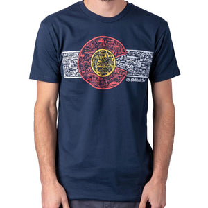 Colorado Landmark Flag T-shirt