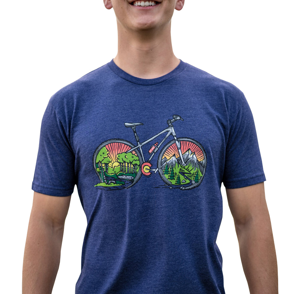 Mountain Ride CO Short Sleeve Tee