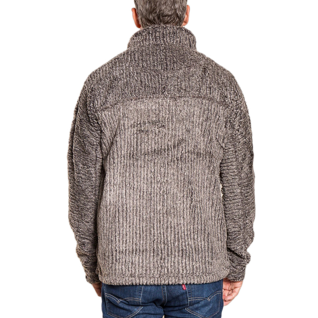Frosty Cord Pile 1/4 Zip Pullover