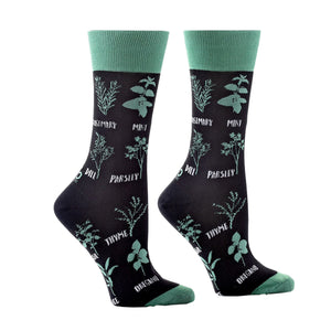Know Your Herbs Crew Socks