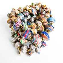 Load image into Gallery viewer, Paper Bead Bracelets