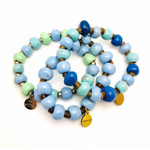 Ceramic Bead Bracelets (25 or 50)