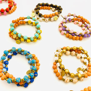 Aromatherapy Bracelets - Essential oil diffuser beads (25 or 50)