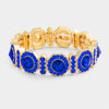 Royal Blue Crystal Stretch Bracelet | 353194