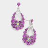 Amethyst Hoop Earrings | 109699