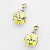 Little Girls Yellow Dangle Earrings | 120689
