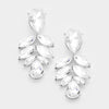 Crystal Leaf Drop Earrings | 342065