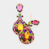 Multi Color Chandelier Earrings | Clip On | 418357