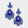 Little Girls Sapphire Pageant Earrings | 346168