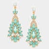 Pacific Opal Fashion Earrings  | 284534