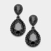 Little Girls Black Earrings | 332447