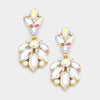 AB Crystal Drop Earrings on Gold | 361276
