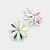 AB Crystal Flower Stud Earrings | 378406