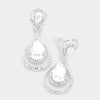 Crystal Surround Clip On Earrings | 341522
