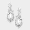 Crystal Teardrop Vine Earrings | 339783