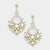 Little Girls AB Crystal Chandelier Earrings | 270440
