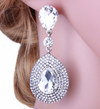 Crystal Drop Earrings | LMBCLR