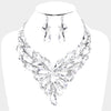 Geometric Crystal Cluster Pageantu00a0Necklace | 411588