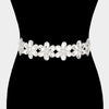 Crystal Flower Bridal Wedding Belt | 260929