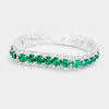 Emerald Stretch Bracelet | 213616