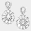 Crystal Pageant Earrings | Clip On | 307315
