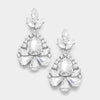 Little Girls Crystal Pageant Earrings | 346170