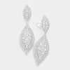 Crystal Marquise Clip On Earrings | 356723