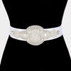 Pearl and Crystal Wedding Belt | 325214