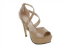 Nude Pageant Shoes | Nude Shoes | PS-V001 Nude