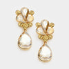Little Girls Gold Teardrop Earrings | 342284