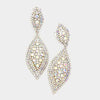 AB Crystal Marquise Clip On Earrings | 356722