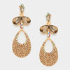Little Girls Gold Dangle Earrings | 312419