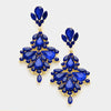 Sapphire Crystal Chandelier Earrings | 337013