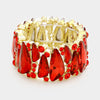 Red Crystal Stretch Bracelet | 344874 E2B3169
