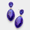Little Girls Sapphire Marquise Earrings | 322712
